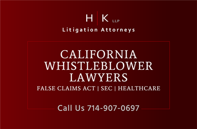 CA Whistleblower Lawyers Hochfelsen and Kani LLP